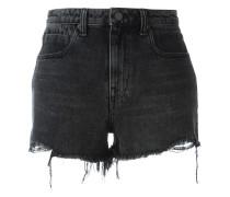 Jeansshorts im Distressed-Look