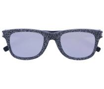 Sonnenbrille mit Glitzereffekt