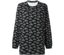 Sweatshirt mit Wolken-Print