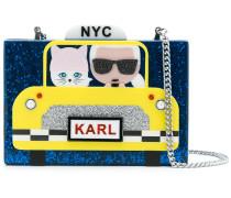 Karl NYC Taxi clutch