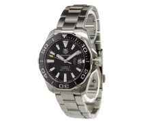 'Aquaracer Calibre 5' analog watch