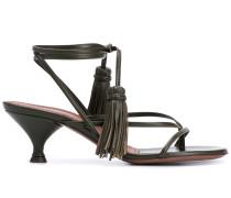 Sandalen mit Quasten, 65mm