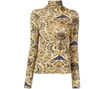 Aurelia floral-print jersey top