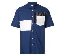 Hemd mit Kontrasteinsatz