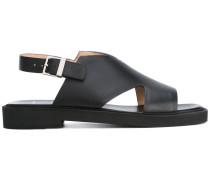 - Sandalen mit Schnalle - women - Leder/rubber