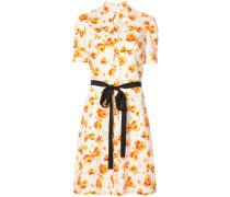 Hemdkleid mit Schmetterlings-Print - women