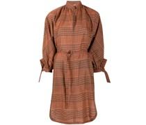 Hemdkleid mit Stehkragen