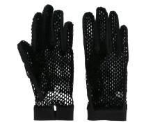 Handschuhe in Netzoptik