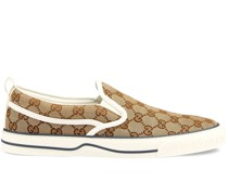 GG Supreme Slip-on-Sneakers