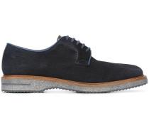 Derby-Schuhe mit Zickzackmuster