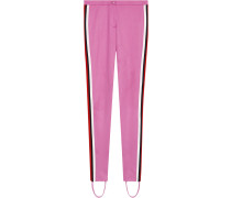 Jersey stirrup leggings with Web
