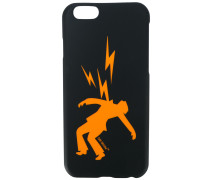 electric shock print iPhone 7 case - men - PVC