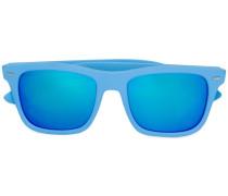 Gummierte Sonnenbrille