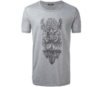 T-Shirt mit Tribal-Print