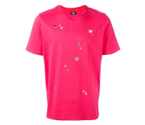 T-Shirt mit Pillen-Prints