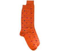 Gemusterte Socken - men