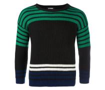 Gerippter Pullover mit Streifen - men