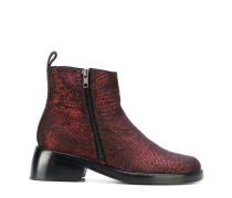double zip boots