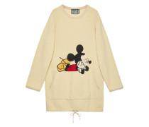 x Disney Pulloverkleid mit Mickey-Stickerei