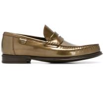 - Loafer aus gebürstetem Leder - men