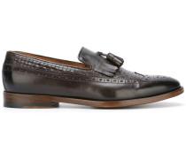 Loafer mit gewebtem Einsatz - men