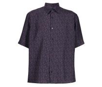 logo pattern shirt