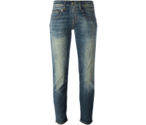 Cropped-Jeans mit schmaler Passfor