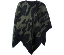 camouflage cape scarf