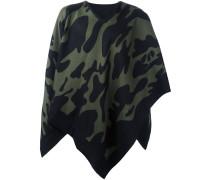 Cape-Schal mit Camouflage-Print - men