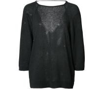 Pullover mit Dreiviertelärmeln
