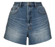 Ausgeblichene Jeansshorts