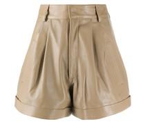'Jett' Shorts aus Leder