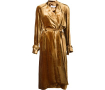 belted mid coat