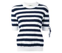 - knit striped top - women