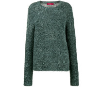Courtney tinsel-knit sweater