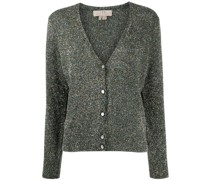 A.P.C. Cardigan im Metallic-Look