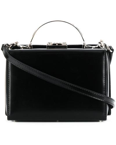 Mark Cross Damen Umhängetasche mit Logo-Prägung Preiswerter Preis Fabrikverkauf 3Zo8yJW