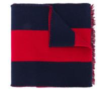 Guccy striped knit scarf