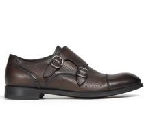 Derby-Schuhe mit Schnallen
