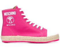 High-Top-Sneakers mit Logo - women