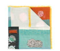 Garavani printed shawl