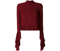 frill-trim knitted top - Unavailable