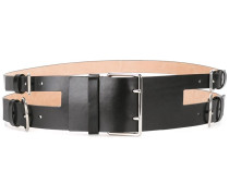 multi buckle belt