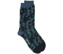 abstract-pattern socks