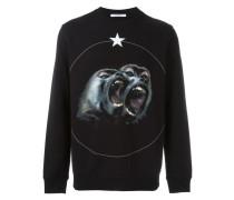 'Monkey Brothers' Sweatshirt - men - Baumwolle