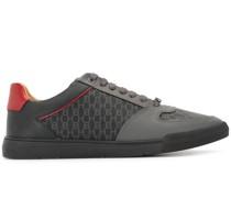 Sneakers mit Monogramm-Einsätzen