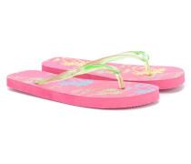 - Flip-Flops mit tropischem Print - kids