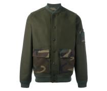 patch pocket bomber jacket
