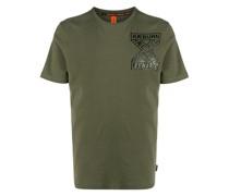 'Ethos' T-Shirt mit Logo-Print