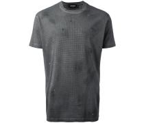 T-Shirt mit Nietenverzierung